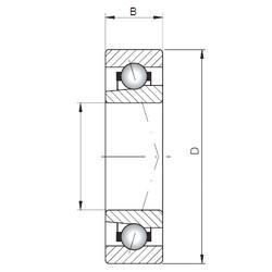 ISO 71952 C angular contact ball bearings