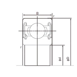 32 mm x 75 mm x 20 mm  NACHI 63/32-2NKE deep groove ball bearings