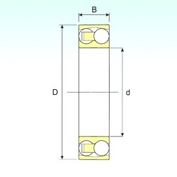 15 mm x 42 mm x 17 mm  ISB 2302 self aligning ball bearings