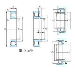 300 mm x 460 mm x 74 mm  PSL NH1060 cylindrical roller bearings
