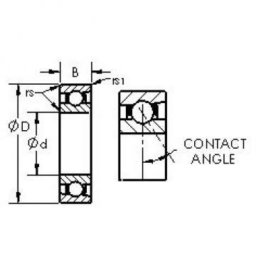 AST 71952C angular contact ball bearings