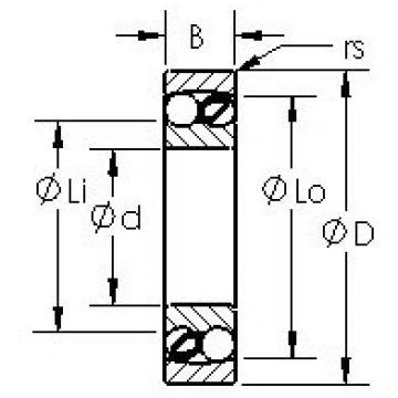 AST 2302 self aligning ball bearings
