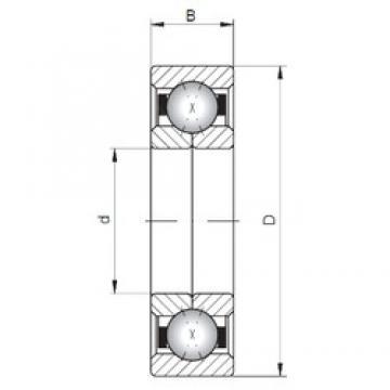 Loyal QJ1060 angular contact ball bearings