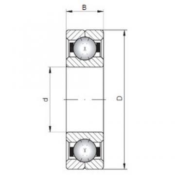 Loyal Q1060 angular contact ball bearings
