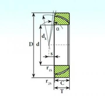 ISB GAC 55 SP plain bearings