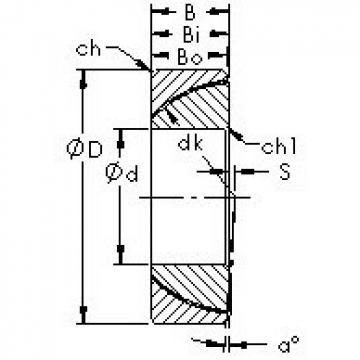 AST GAC45N plain bearings