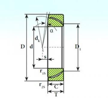 ISB GAC 45 CP plain bearings