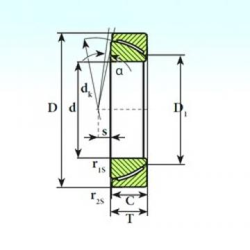 ISB GAC 55 CP plain bearings