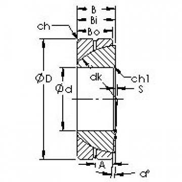 AST GAC55S plain bearings
