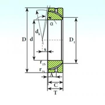 ISB GAC 45 S plain bearings