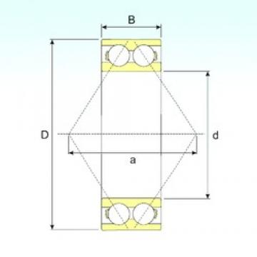 55 mm x 100 mm x 33,3 mm  CYSD 5211 angular contact ball bearings
