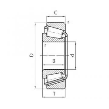 PFI 32009X tapered roller bearings