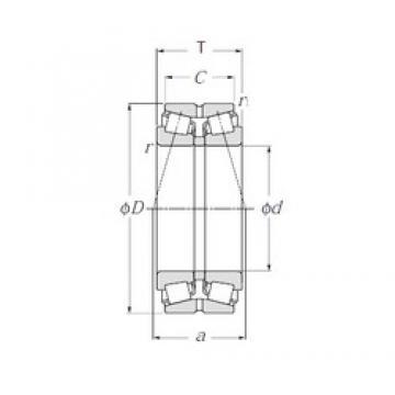 NTN 413172 tapered roller bearings