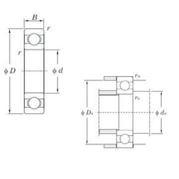 32 mm x 75 mm x 20 mm  KOYO 63/32 deep groove ball bearings