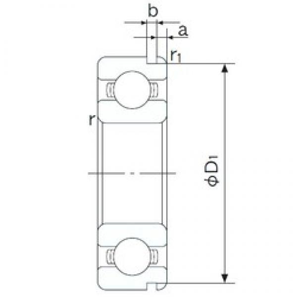 32 mm x 75 mm x 20 mm  NACHI 63/32N deep groove ball bearings #1 image