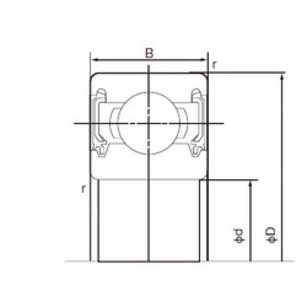 32 mm x 75 mm x 20 mm  NACHI 63/32-2NKE deep groove ball bearings #1 image