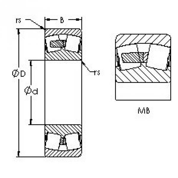 AST 24032MB spherical roller bearings #1 image