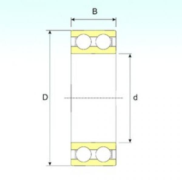 15 mm x 42 mm x 17 mm  ISB 4302 ATN9 deep groove ball bearings #1 image