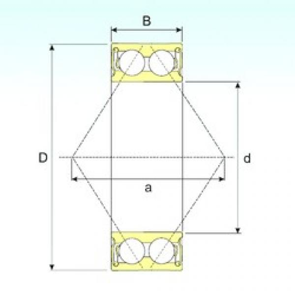 55 mm x 100 mm x 33,3 mm  CYSD 5211 2RS angular contact ball bearings #1 image