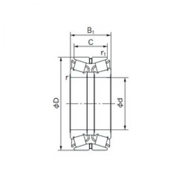 NACHI 360KBE031 tapered roller bearings #1 image