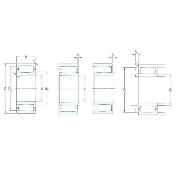 160 mm x 240 mm x 80 mm  SKF C4032K30V cylindrical roller bearings #1 image